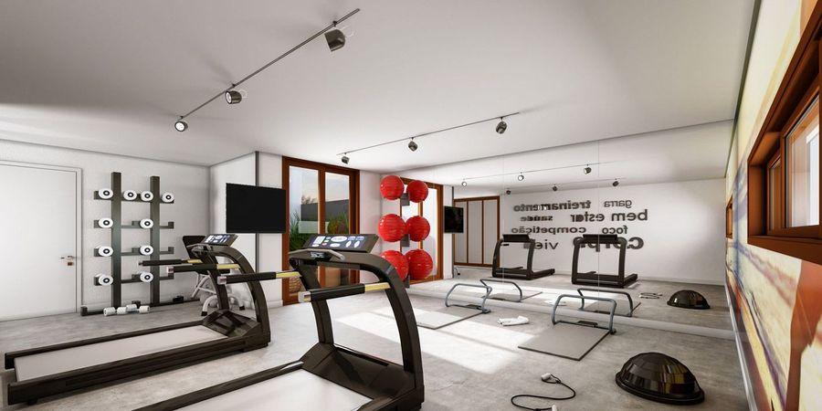 Fitness do empreendimento Montblanc da contrutora de alto padrão Zuckhan