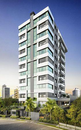Imagem ilustrativa mostrando a fachada do empreendimento Match da construtora Zuckhan.