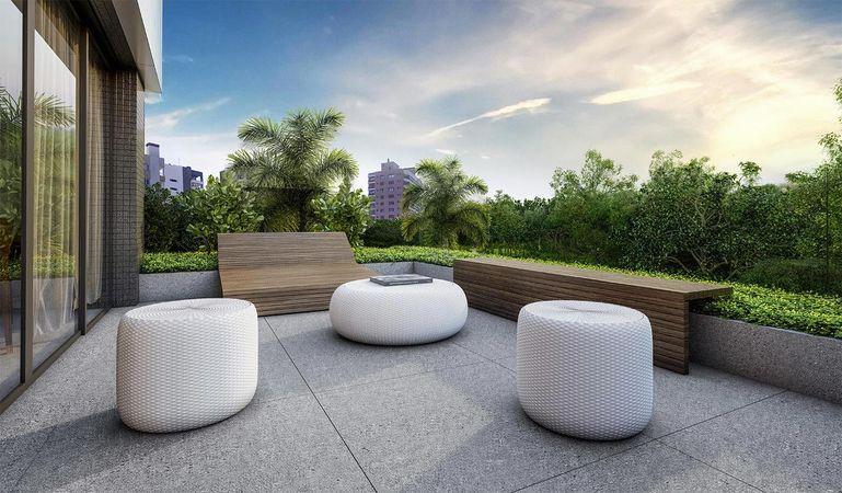 Imagem ilustrativa do lounge do empreendimento Match da construtora Zuckhan.