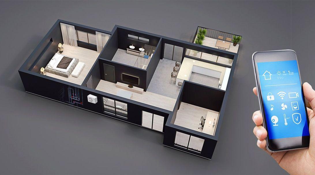 Imagem interativa ilustrando o serviço de personalização de imóveis da construtora Zuckhan