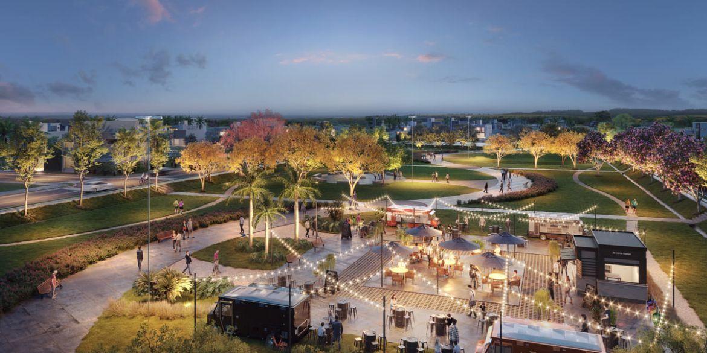 Espaço para feiras e eventos do Parque Pôr do Sol