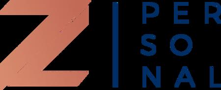 Logotipo do serviço de personalização Personal Z da construtora Zuckhan